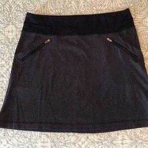 Short blue Lucy skirt